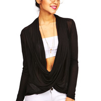 Wrapped Up Twist Top | Tops at Pink Ice
