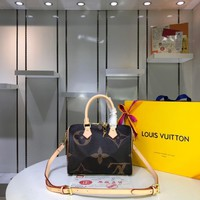 Kuyou Lv Louis Vuitton Gb29624 M41113 Speedy Bandouliere 25 Handbag