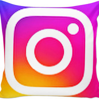 Instagram Couch Pillow
