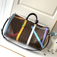 LV Louis Vuitton highest quality of the whole network Newest Popular Women Leather Handbag Tote Crossbody Shoulder Bag Satchel 822