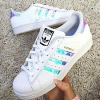 Adidas Superstar Men's and Women's Sports Sneakers Shoes