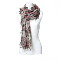 CHECKED OPENWORK SCARF - Scarves - Accessories - Woman | ZARA United States