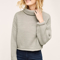 Chellie Cropped Turtleneck
