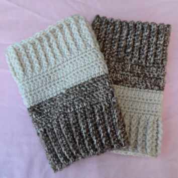 Reversible Boot Cuffs - Crochet Boot Cuffs - 2 in 1 Boot Cuffs - Boot Toppers - Leg Warmers - Knee Warmers - Fall Winter Fashion