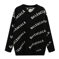 Balenciaga Woman Men Fashion Knit Top Sweater Pullover