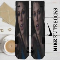 Taylor Swift Out Of The Woods Video Custom Nike Elite Socks