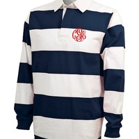 Monogrammed Classic Rugby Shirt | Clothing & Outerwear | Marley Lilly