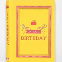 On Your Birthday By Summersdale- Assorted One