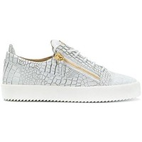 Giuseppe Zanotti Design Men's RU70000049 White Leather Sneakers