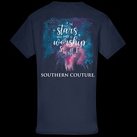 Southern Couture Classic Stars Made to Worship T-Shirt