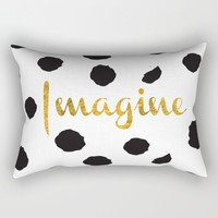 Imagine Rectangular Pillow by Lovely And Cute | Society6