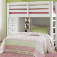 Rosalie White Bunk Beds