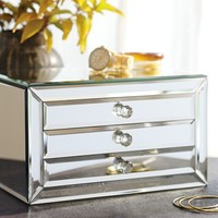 SELINA MIRRORED JEWELRY BOX