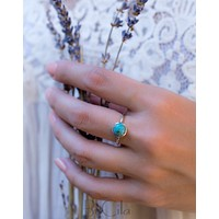 Bianca Ring * Turquoise * Sterling Silver 925 * BJR064