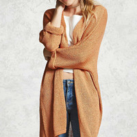 Contemporary Open-Knit Cardigan