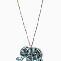 Bombay Bling Elephant Necklace | Fashion Jewelry - Be Charmed | charming charlie