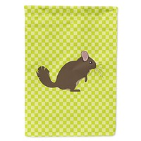 Chinchilla Green Flag Garden Size