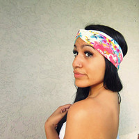 Floral Stud Turban from Love What's Missing
