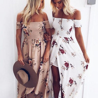 Cindee Lane Boho Maxi Dress