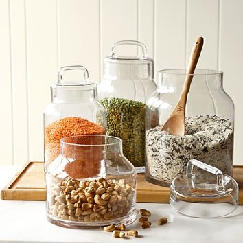 Glass Pantry Canister