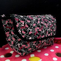 New Hello kitty Canvas Bag Shopping Shoulder Messenger Bags Purse yey-C8871