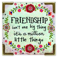 Friendship  Corner  Magnet  From  Natural  Life