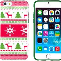 """iPhone 6 Case, DandyCase PERFECT PATTERN *No Chip/No Peel* Flexible Slim Case Cover for Apple iPhone 6 (4.7"""" screen) - LIFETIME WARRANTY [Vintage Christmas ]"""