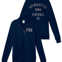 Dallas Cowboys Half-Zip Pullover - PINK - Victoria's Secret