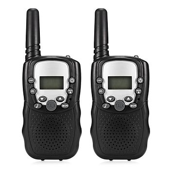 1Pair Child Kids Walkie Talkie Parenting Game Mobile Phone Telephone Talking Toy 8 Channels 3KM Range For Kids 2pcs Drop