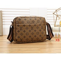 """Louis Vuitton"" fashion trend wild Messenger print  shoulder bag 4#"