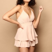 Layer By Layer Ruffle Romper