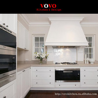 Modern luxury american white lacquer kitchen furniture