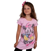 Minnie Mouse - True Love Girls Youth T-Shirt