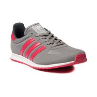 Womens adidas Adistar Racer Athletic Shoe, Grey Pink | Journeys Shoes