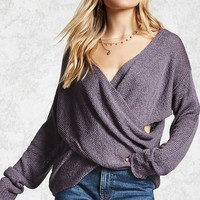 Contemporary Crossover Sweater