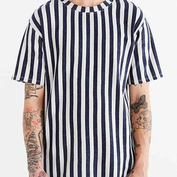 Your Neighbors Vertical Stripe Tee