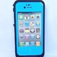 Life Changing Water proof snow, dust, shock proof Case Cover for IPHONE 4 4S