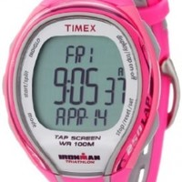 Timex Ironman Sleek Digital 250-Lap TapScreen Ladies Watch T5K591