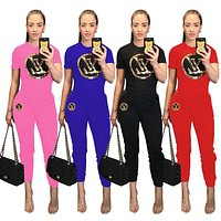 Womens sportswear short sleeve outfits 2 piece set tracksuit jogging sportsuit hoodie legging outfits sweatshit tights sport suit 0810