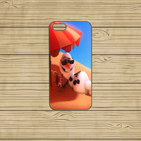 Htc ONE case,Htc M7 case,Htc ONE X case,Htc ONE S case,iphone 5S case,iphone 5C case,iphone 5S cases,iphone 5C cover--frozen,olaf,in plastic
