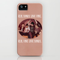 Real bands save fans - 5SOS iPhone & iPod Case by Tarawrawr