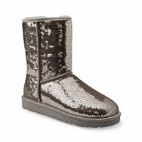 UGG Women's Classic Sparkles Boot For Women, Girls - Free Shipping
