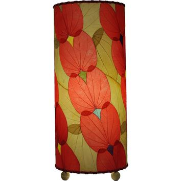 Butterfly Table Lamp Red