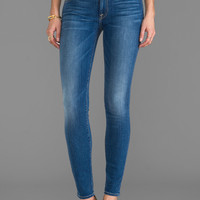 7 For All Mankind The Skinny in Bright Red Cast Blue