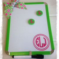 Personalized Magnetic Dry Erase Board