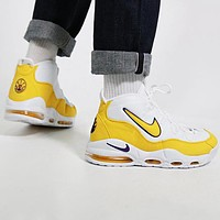 NIKE AIR MAX UPTEMPO 95 Trending Men Casual Sport Running Basketball Shoes Sneakers Yellow