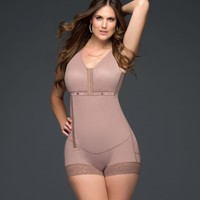 High Compression Body Suit Girdle with Zipper