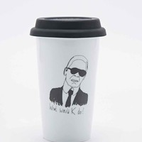 What Would K Do? Travel Mug - Urban Outfitters