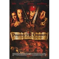 Pirates Of The Caribbean Curse Black Pearl poster 24inx36in Art