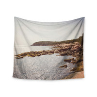 "Jillian Audrey ""The Maine Coast"" Coastal Wall Tapestry"